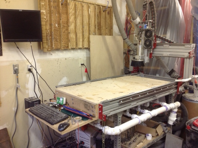 The Blackfly CNC router