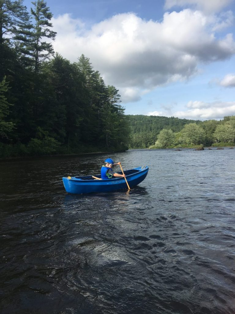From the Shop:  The Mosquito Burrito: a canoe for kids?