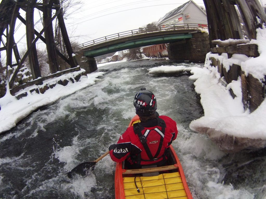 From the Shop:  Winter paddling tips and/or Holiday gift guide.